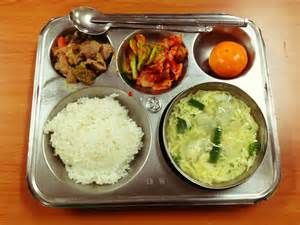 Lunch In Korean Elementary School Lunch Travel Thayer