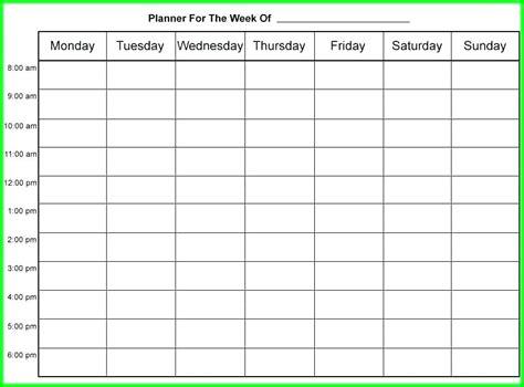 free control plan template constescom time management schedule