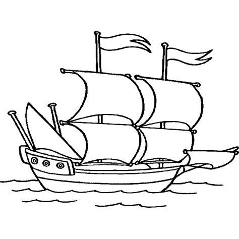 Dibujos Para Colorear Dibujos De Barcos Para Imprimir