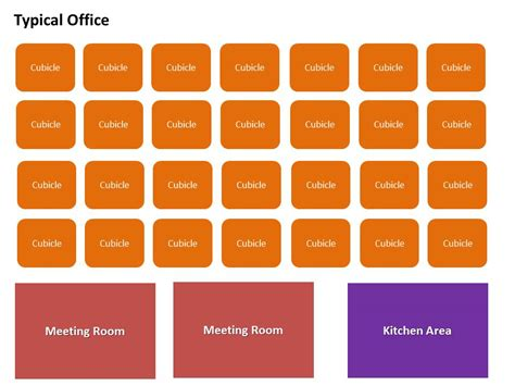 typical office floor plan building the collaborative officevia mindjet blogs