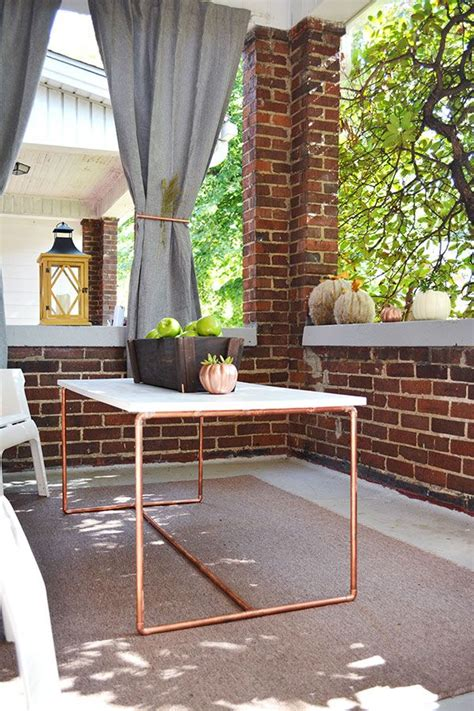 Copper Patio Table Best 25 Copper Table Ideas On