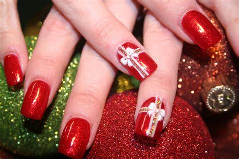 nail art ribbon design tutorial my diy nail art x x mas