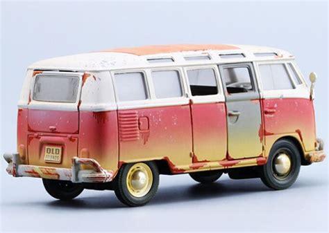 Diecast Maisto Outlaws 125 Vw Samba Grey 1 25 friends series 1962 die cast vw samba model bu01s092 ezmotortoys