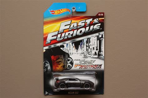 Fast And Furious Hotwheels Nissan 350z Th Diecast 350 Z wheels 2015 fast furious nissan 350z