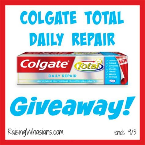 Todays Giveaway - super mom reminders for back to school colgate total