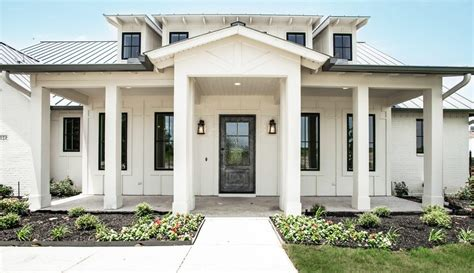 white house with black windows farmhouse trim exterior farmhouse with black wood windows