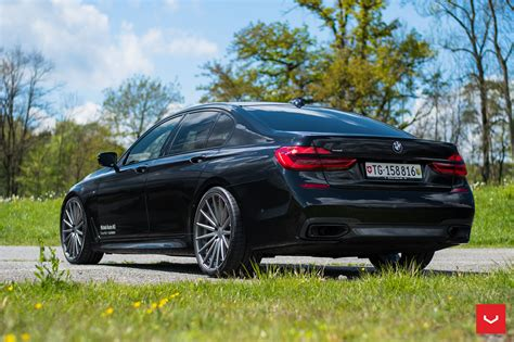 bmw 7 series bmw 7 series upgraded with some gorgeous vossen wheels