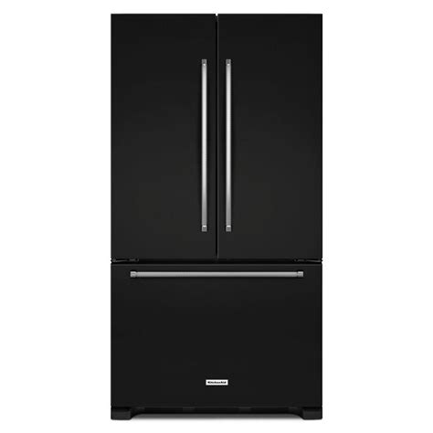 kitchenaid counter depth door refrigerator reviews kitchenaid 36 in w 20 cu ft door refrigerator in
