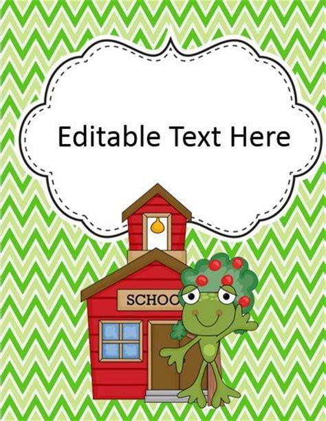 free editable printable binder covers and spines free editable binder covers school printables pinterest