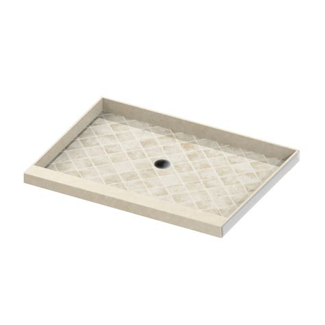 54 X 42 Shower Pan by Shop American Bath Factory Flagstaff Molded Shower