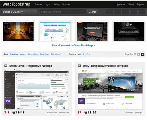 get bootstrap themes free bootstrap themes get responsive bootstrap templates