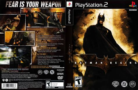 emuparadise game ps2 batman begins usa iso