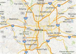 Atlanta Google Maps by 30 Signs You Live In Atlanta Redfin