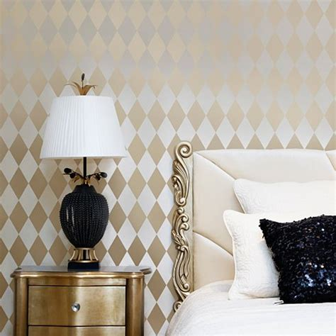 harlequin home decor harlequin allover stencil large scale reusable wall