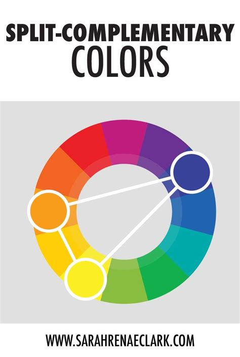 split complementary color scheme understanding color theory the basics clark