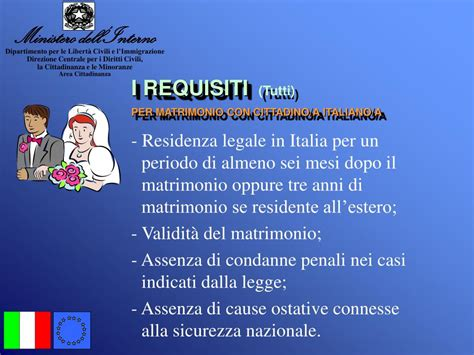 ministero dell interno cittadinanza italiana ppt la cittadinanza italiana powerpoint presentation