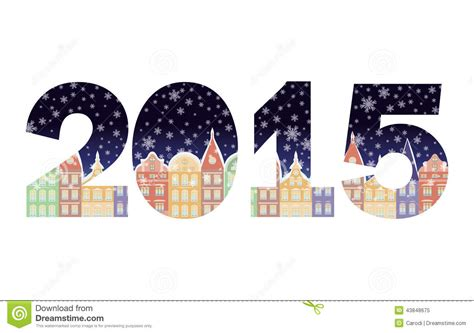 new year banner sparklebox 2015 happy new year banner stock vector image of city