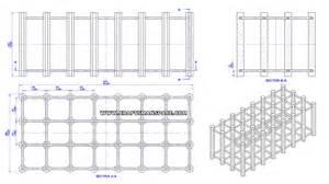 wooden modular wine rack plan