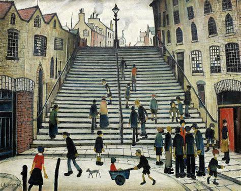 Daylight Ls For Artists by Lowry S Steps At Bonhams 171 Antiquesandartireland