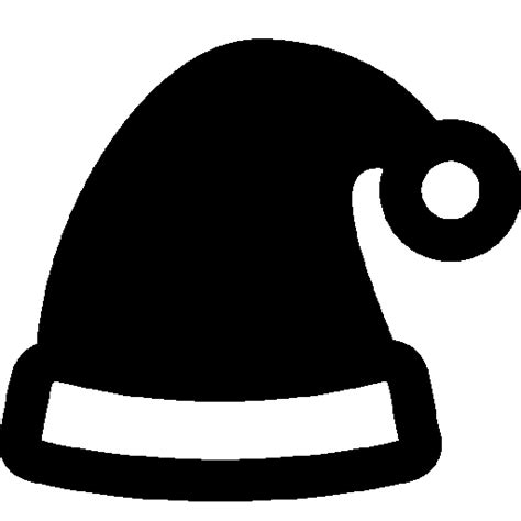 black and white christmas hat holidays hat icon windows 8 iconset icons8