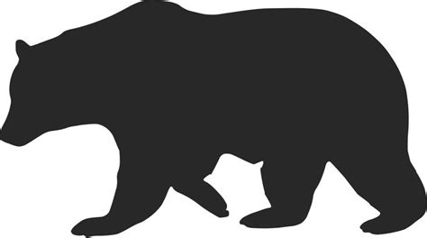 bear silhouette tattoo redesign california s flag has some great ideas but is