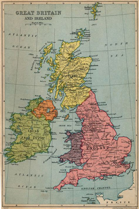 Great Britain Address Lookup Map 20of 20great 20britain 20and 20ireland 201933 171 The Freelance History Writer