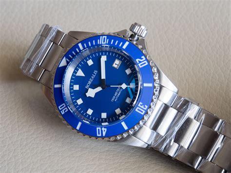blue dive watches borealis sea hawk 1500m automatic diver seiko nh36