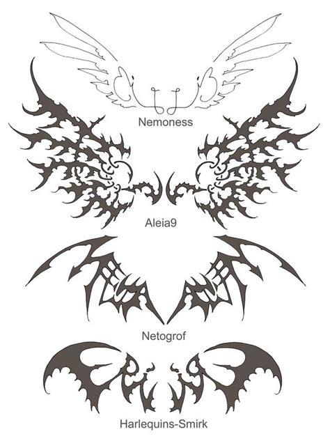 bat wing tattoo designs 90 best bat tattoos images on animal tattoos