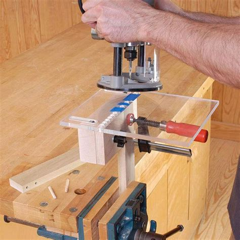 woodworking fixtures multi doweling jig woodworking plan from wood magazine