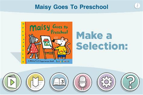 Maisy Goes To Preschool maisy goes to preschool by cousins iphone reviews at iphone quality index
