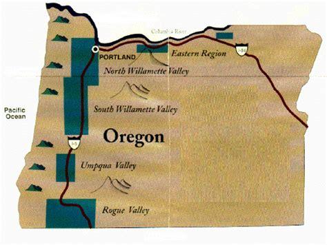 map of oregon regions winenews