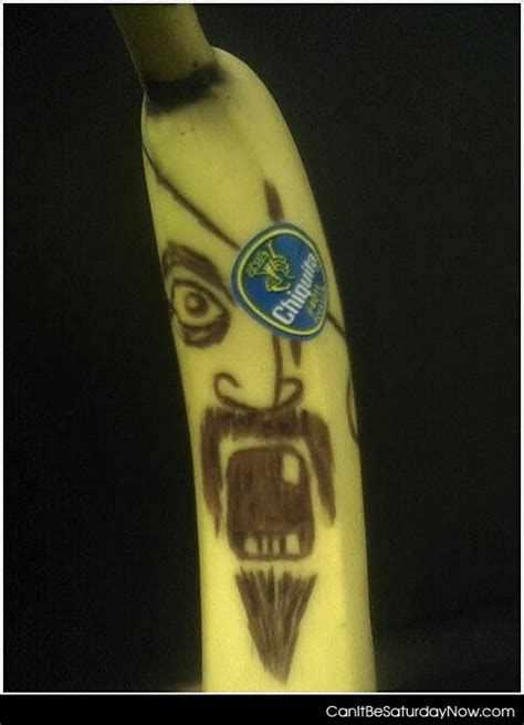 angry banana tattoo angry banana
