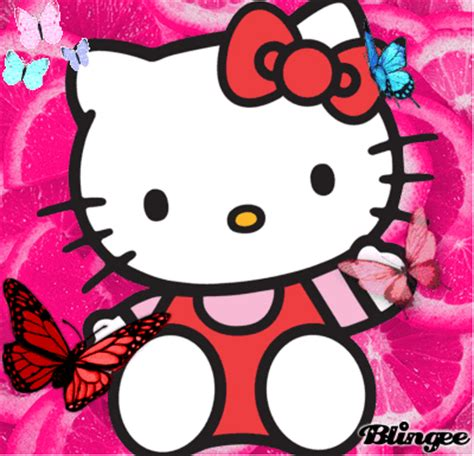imagenes de hello kitty gratis para descargar fotos animadas kitty y las mariposas para compartir