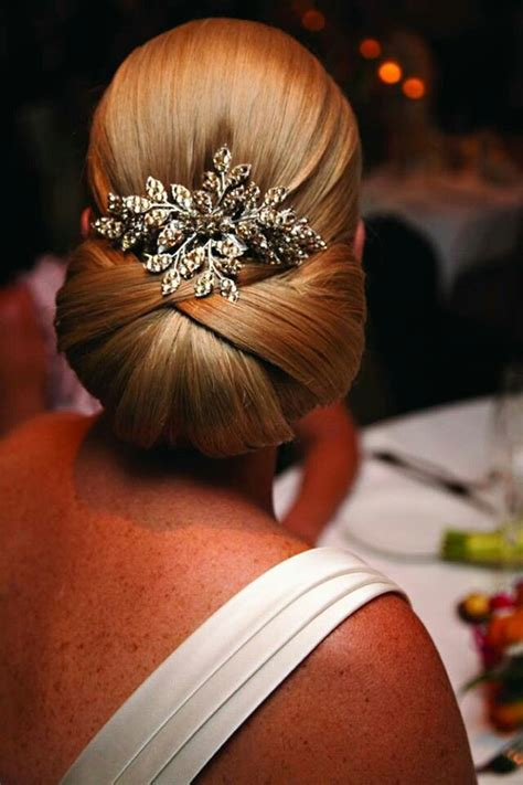 30 chignon Hairstyles for Spring Wedding 1   I Take You