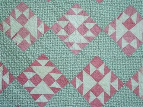 Pink Patchwork Quilts - patchwork quilts in pink green vintage pattern