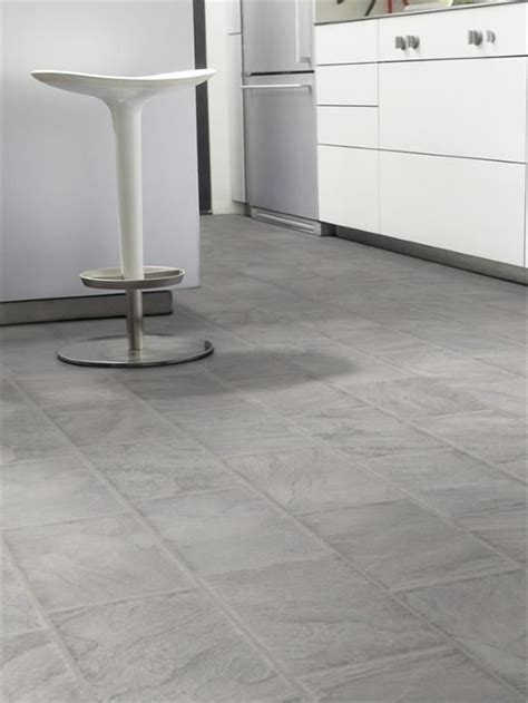 8mm Ashen Slate Tile Effect Laminate Flooring   House