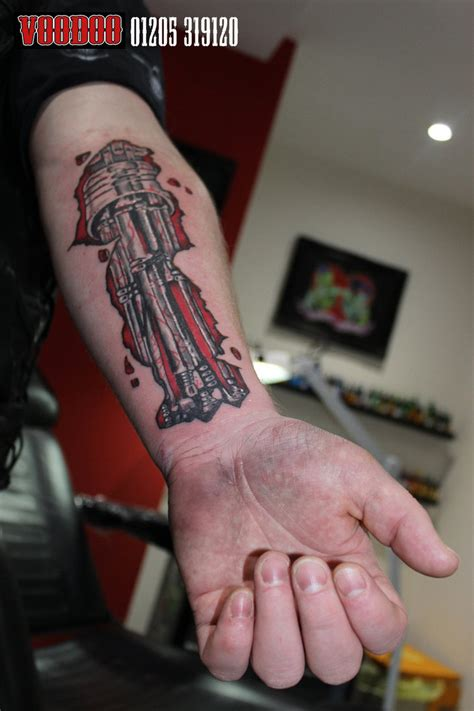 terminator tattoo terminator style by yayzus on deviantart