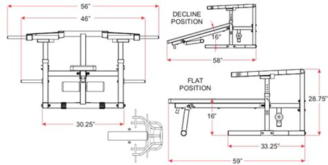 dimensions of bench press incline bench press dimensions crafts