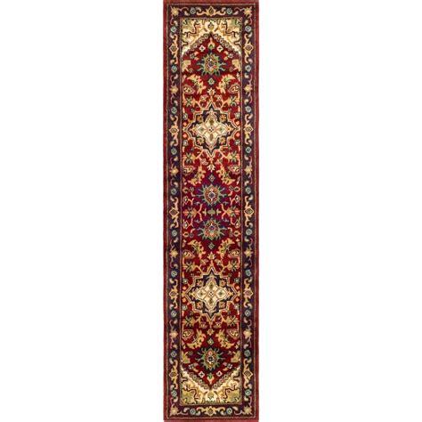 20 foot runner rug safavieh heritage 2 ft 3 in x 20 ft rug runner hg625a 220 the home depot