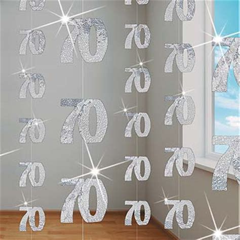 70th birthday themes ideas supplies