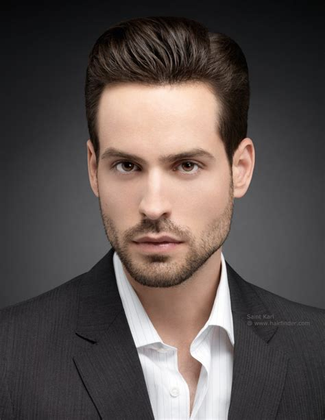 smart mens hairstyles precision haircut for men cut around the ears