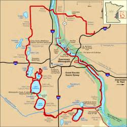 grand rounds scenic byway map america s byways