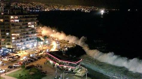 imagenes videos impactantes revisa los impactantes registros de las marejadas en vi 241 a