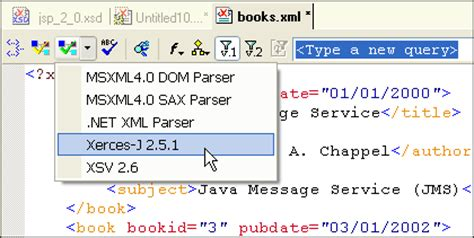 tutorial xerces java how to validate an xml file against a dtd download free