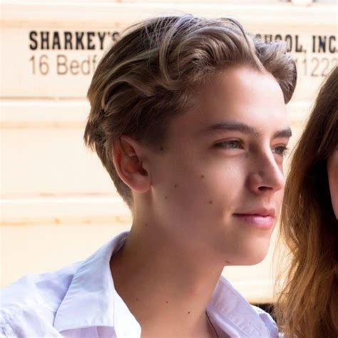 cole sprouse shirtless haircut cole