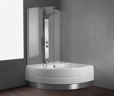 vasca angolare con box doccia vasca da bagno combinata con box doccia quot montreal quot