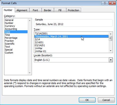 Format Waktu | format tanggal dan waktu di excel mi wajib belajar ngares
