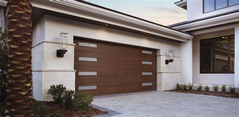 Clopaydoor Residential Garage Doors Exles Residential Modern Style South Dakota Overhead Clopay 174 Ridge 174 Collection Modern Series The Doorman