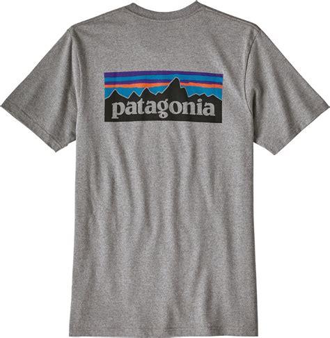 T Shirt L A P D 6 patagonia p 6 logo pocket responsibili t shirt l