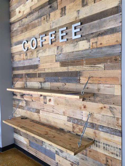 wood wall ideas wood pallet accent wall pallet furniture diy